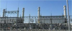 Газотурбинная-паротубринная электростанция